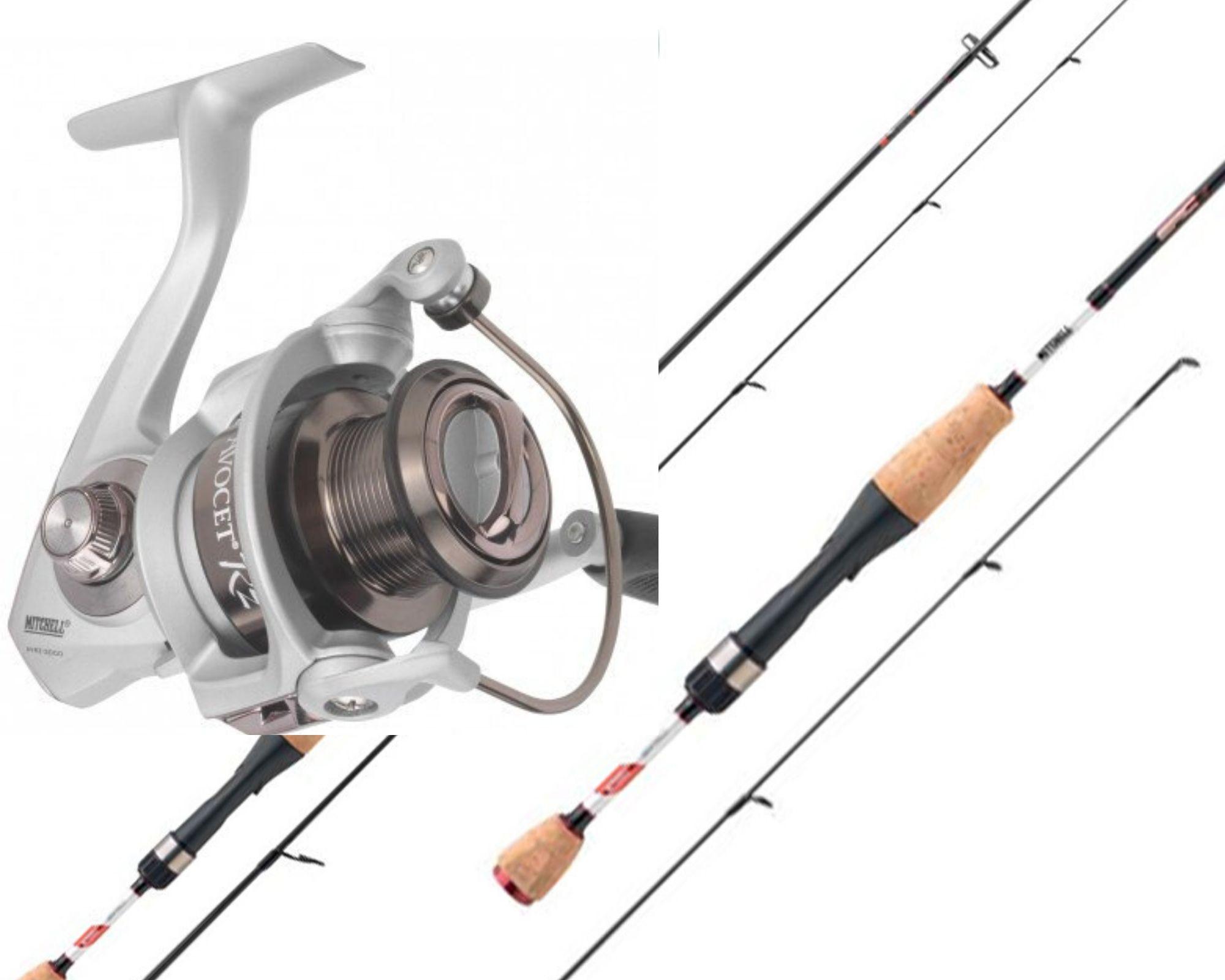 Mitchell RZ Ultraligt fiskesæt Avocet RZ 500 + Epic Rod 152 0-5g